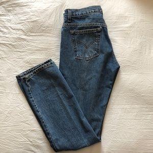 Women's 505 Levi Jeans, slim fit straight leg